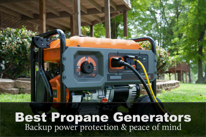Top 7 Best Propane Generators