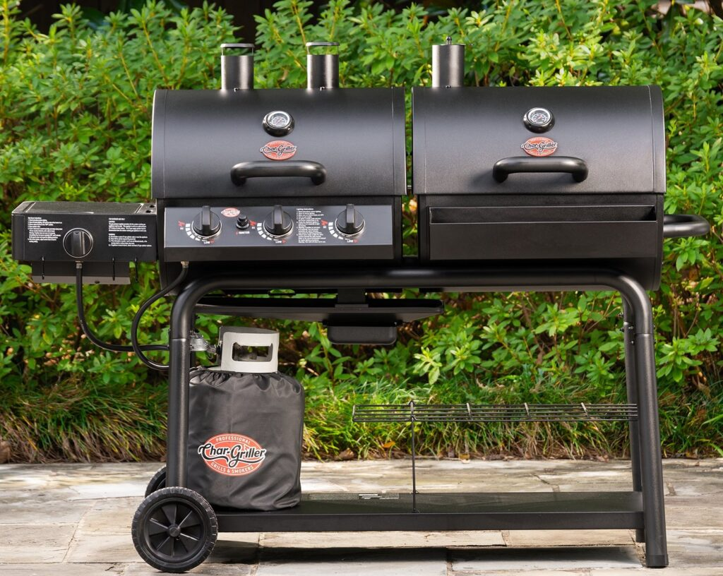 Best Gas And Charcoal Grill Combo image 2