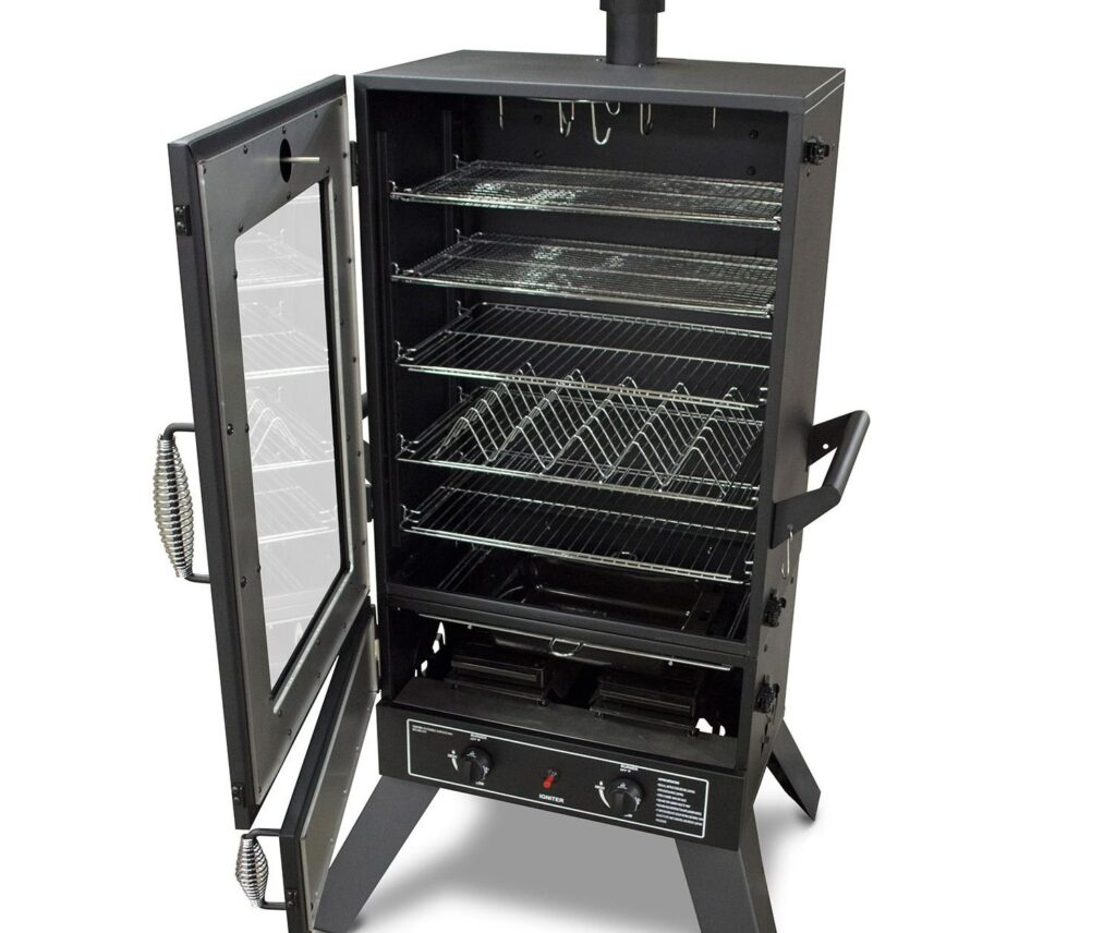 best propane smoker grill combo image 1 masterbuilt 44-inches