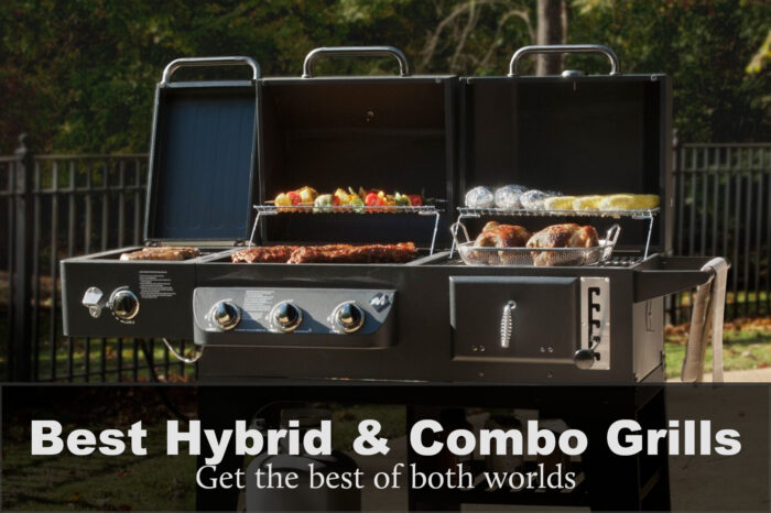 Top 4 best gas and charcoal grill combo review