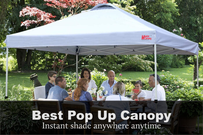 Best Pop Up Canopy For Rain: Reviews, Buying Guide & FAQs