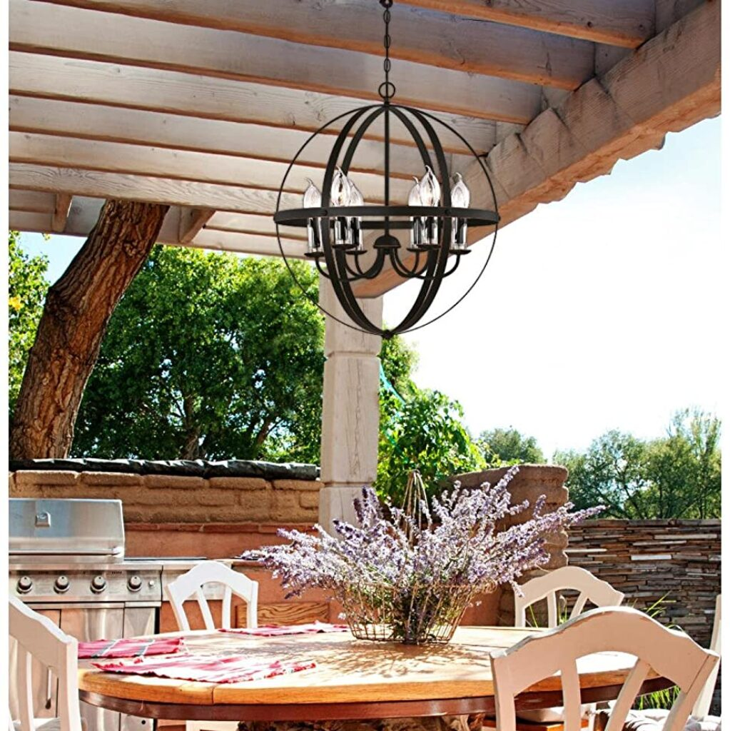 Westinghouse outdoor chandelier image