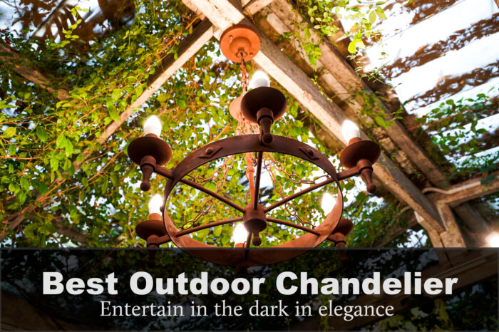 best outdoor chandelier