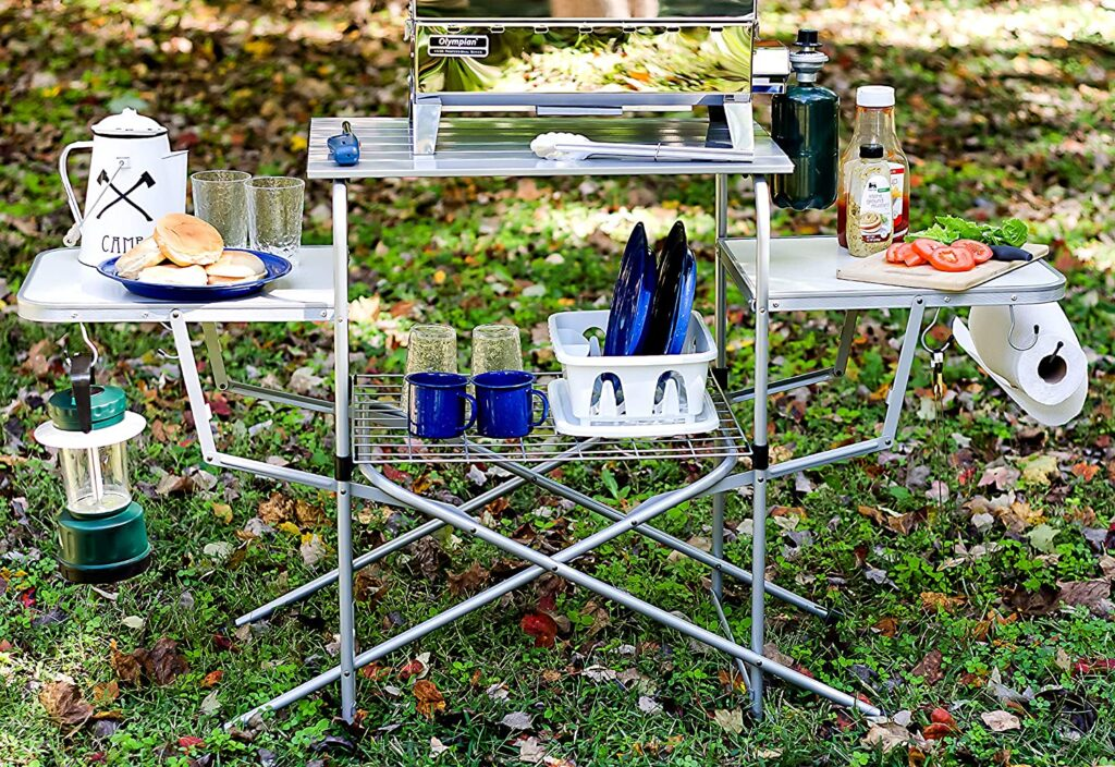 Camco outdoor prep table