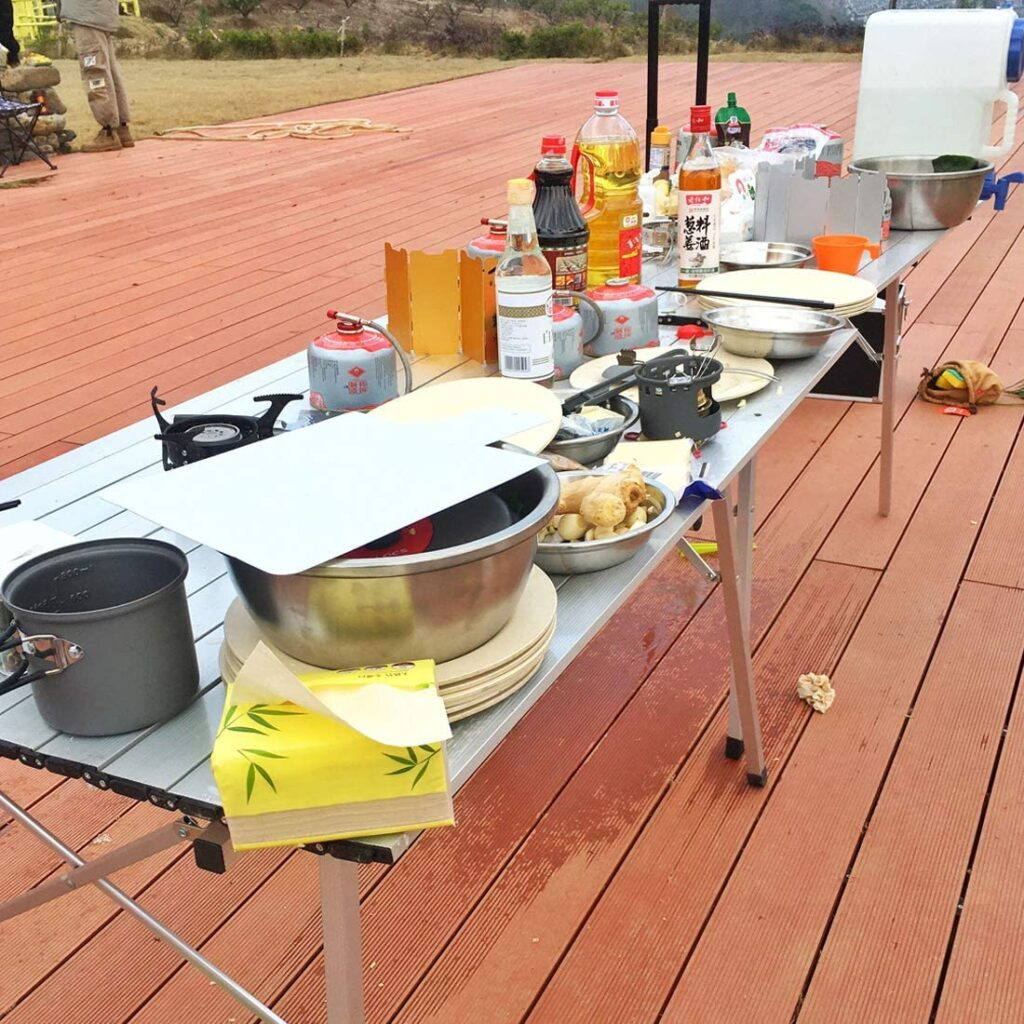 best outdoor prep table image 1