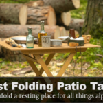 best folding patio table