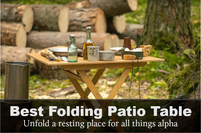 Best Folding Patio Table: Reviews, Buying Guide & FAQs