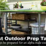 best outdoor prep table