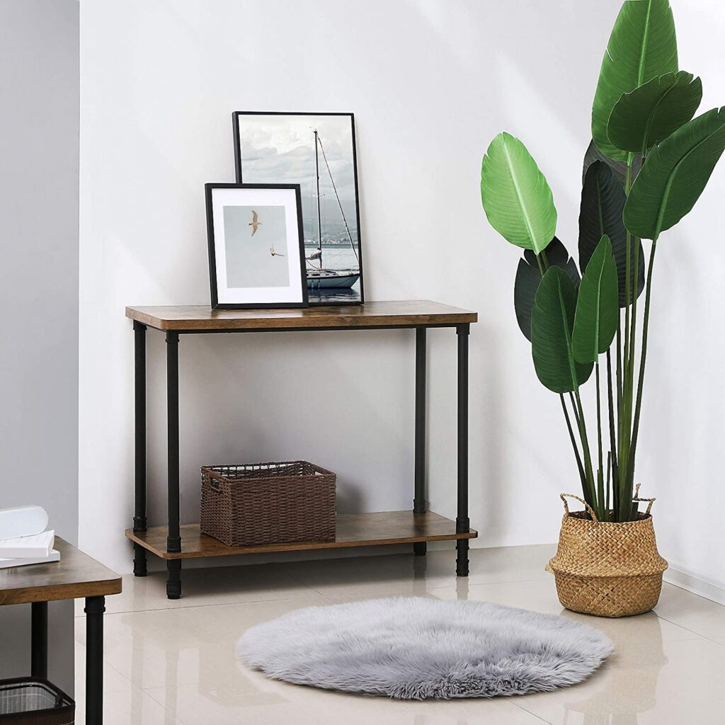 Vasagle outdoor console table image