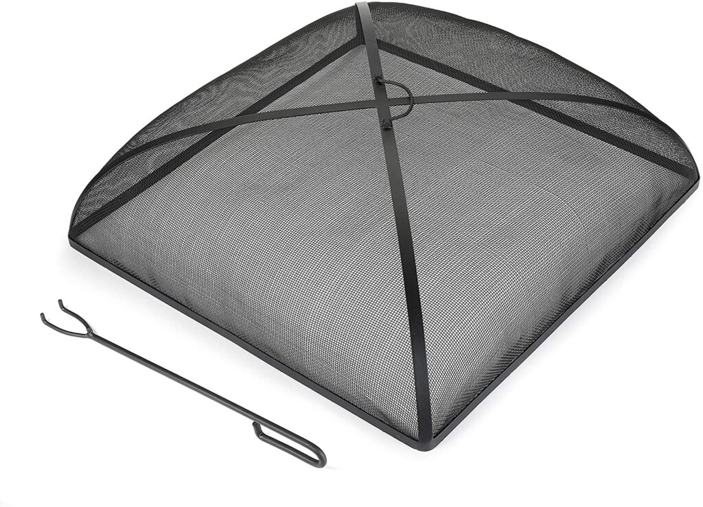 best fire pit screen good directions 30-inch