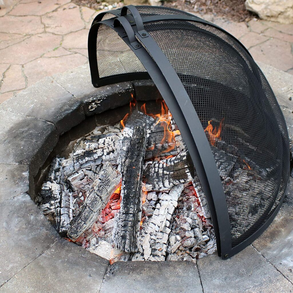 Best Fire Pit Screen image 1