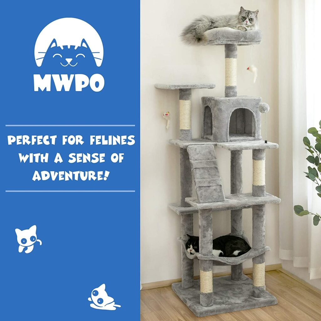 mwpo outdoor cat tree house image