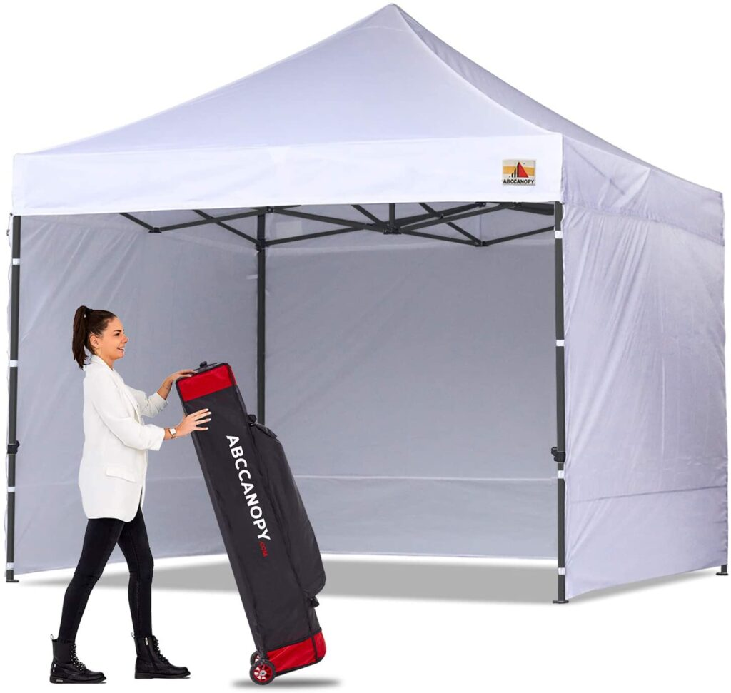 abc tent with side