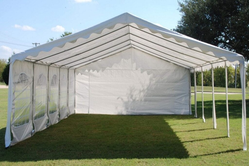 delta large popup canopy with sides image
