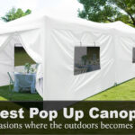 Best Pop Up Canopy With Sides