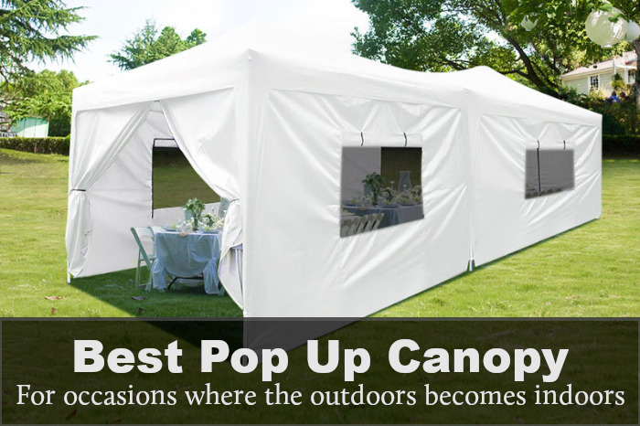 Best Pop Up Canopy With Sides: Reviews, Buying Guide & FAQs