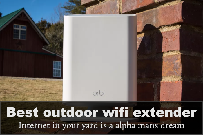 Best Outdoor WiFi Extender: Reviews, Buying Guide & FAQs